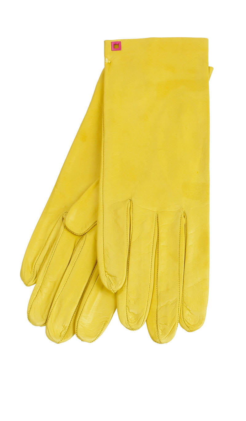 Women glove Classic Unlined Sun Yellow