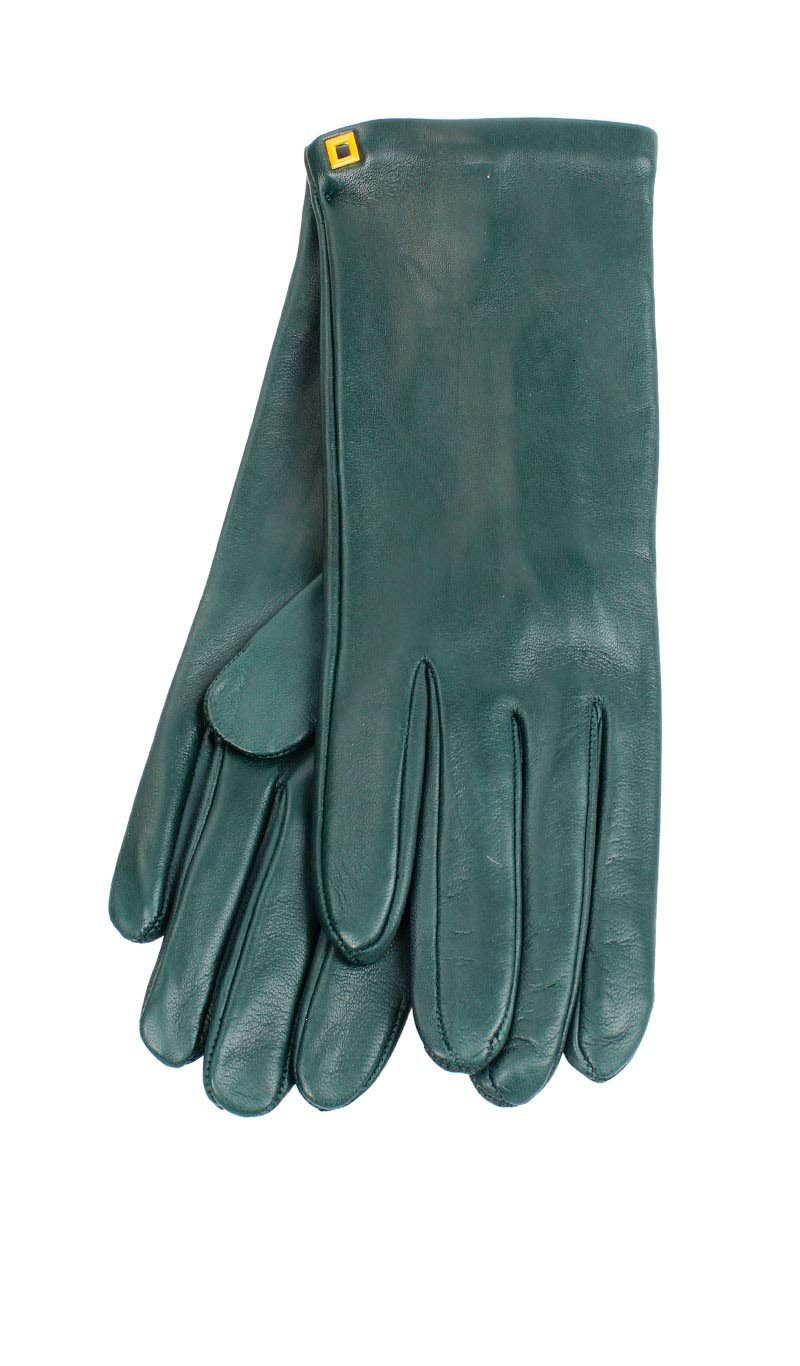 Women glove Classic Unlined Hunter Green