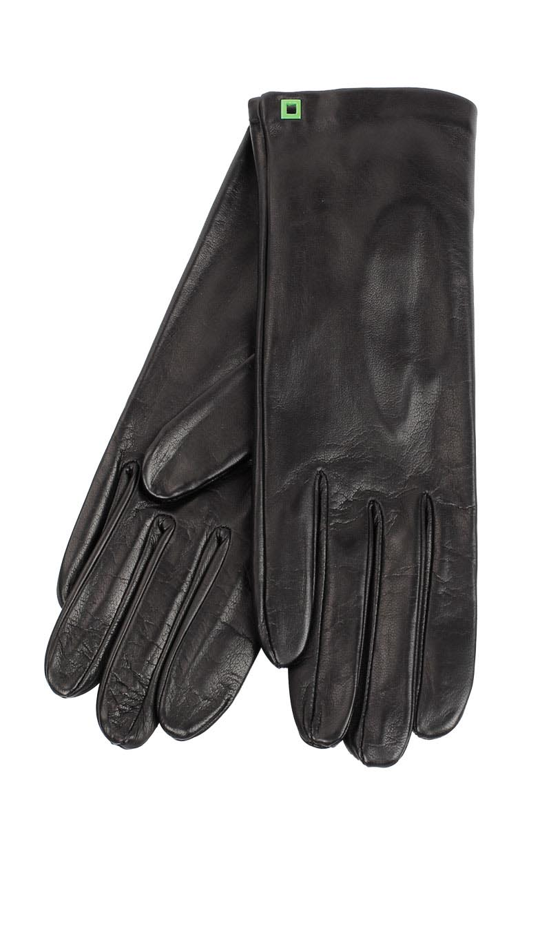 Women glove Classic Silk Lined Black