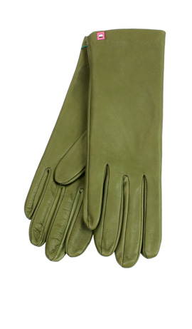 Classic Silk Lined Kaki Green