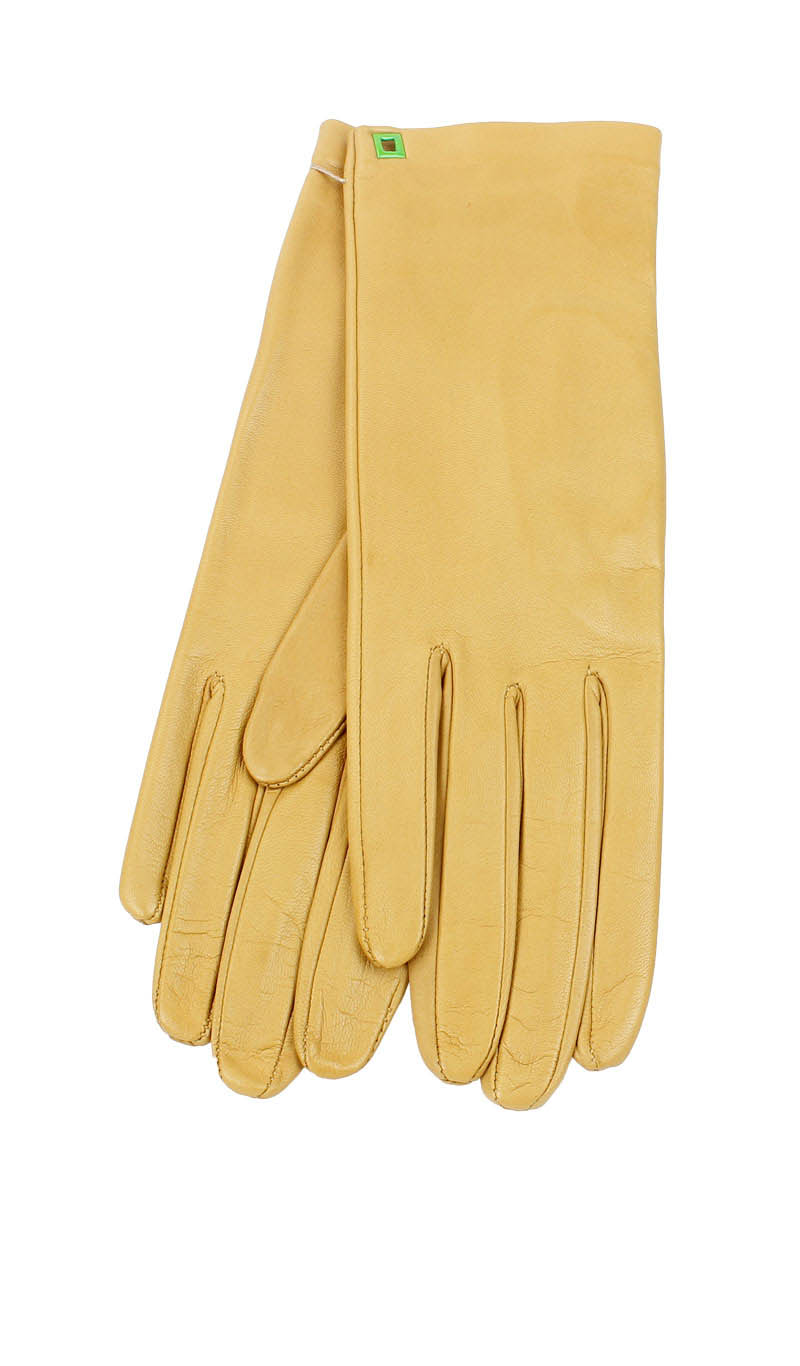 Women glove Classic Silk Lined Biscuit