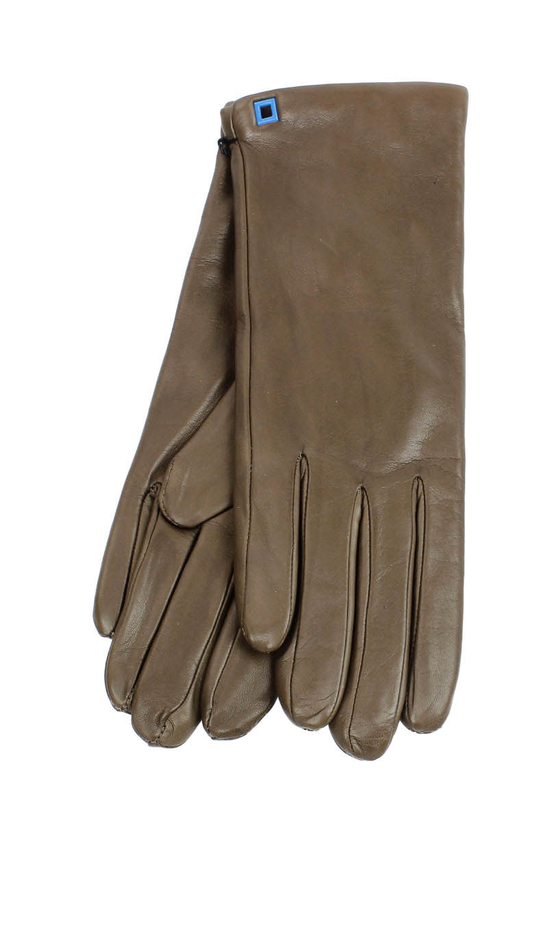 Women glove Classic Cashmere Lined Mud