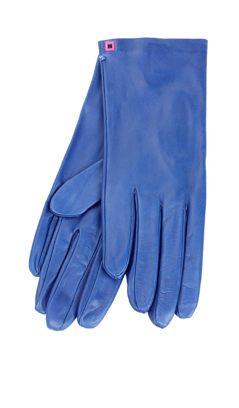 Women glove Classic Cashmere Lined Royal Blue