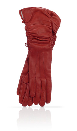 6 In. Can Can Silk Lined Valentino Red