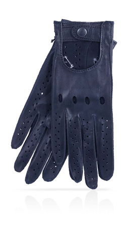 Woman Driving Gloves Unlined Midnight Blue/Midnight Blue
