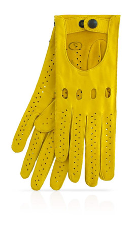 Woman Driving Gloves Unlined Sun Yellow/Sun Yellow