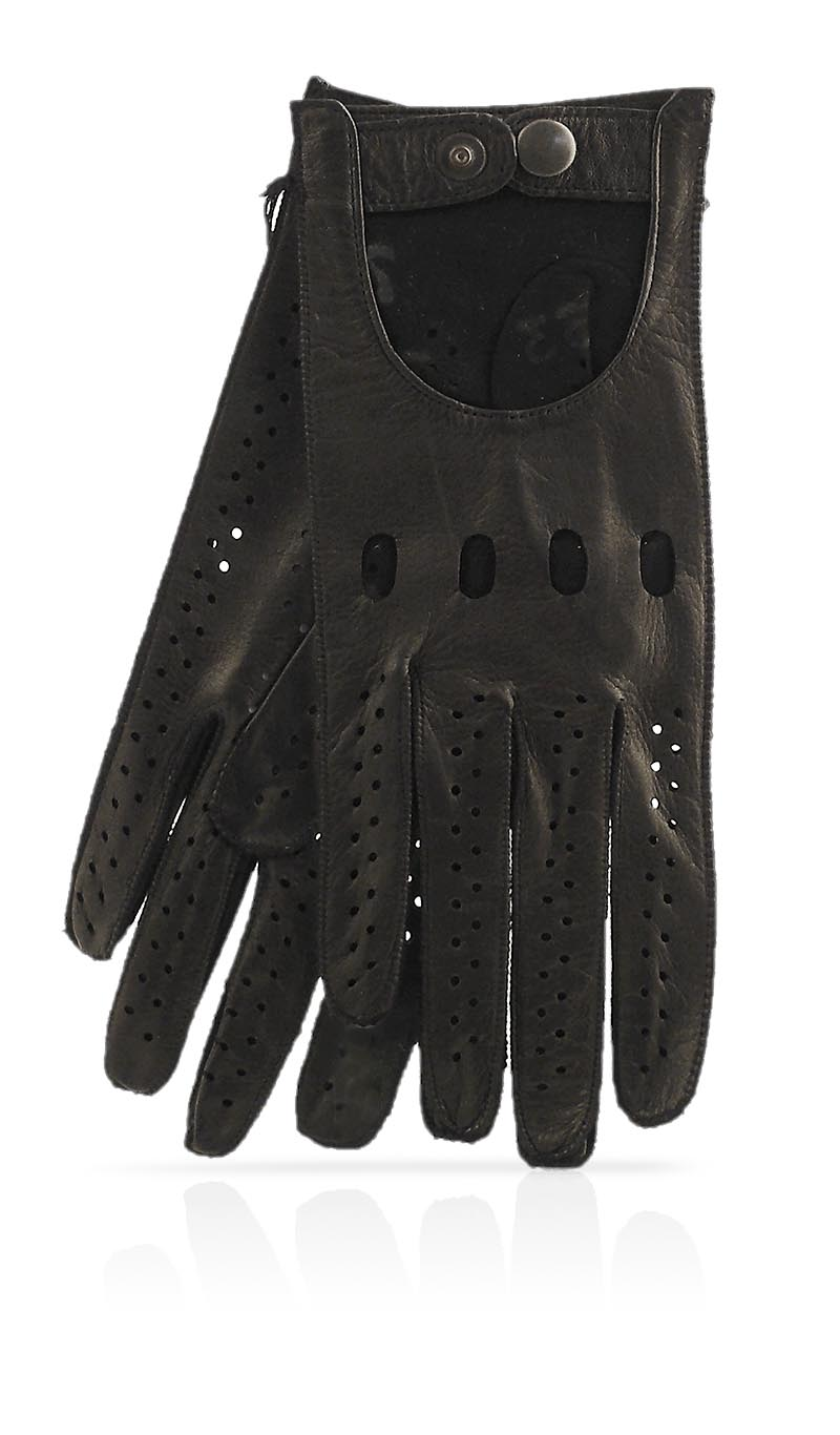 Women glove Woman Driving Gloves Unlined Black/Black