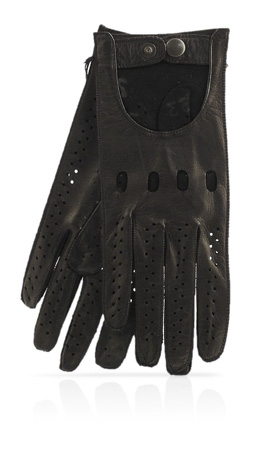 Woman Driving Gloves Unlined Black/Black