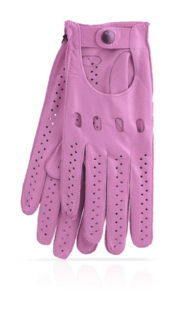 Woman Driving Gloves Unlined Wisteria/Wisteria