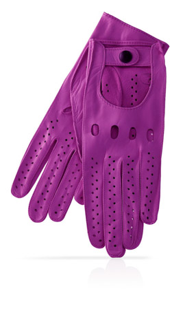 Woman Driving Gloves Unlined Cardinal/Cardinal