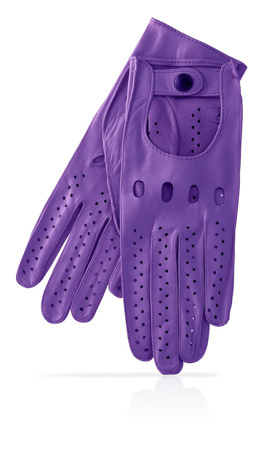 Woman Driving Gloves Unlined Lilac/Lilac