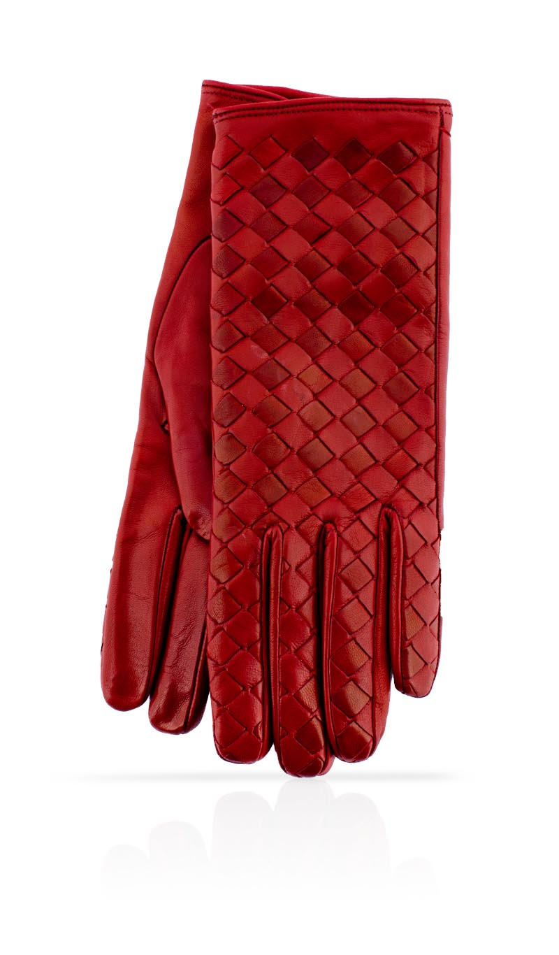 Women glove Tracy Gucci Red/Gucci Red