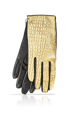 Cocco Gold F. Doubl� Laine Or Metallic/Noir