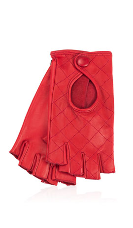 Kate Lady Fingerless Valentino Rot