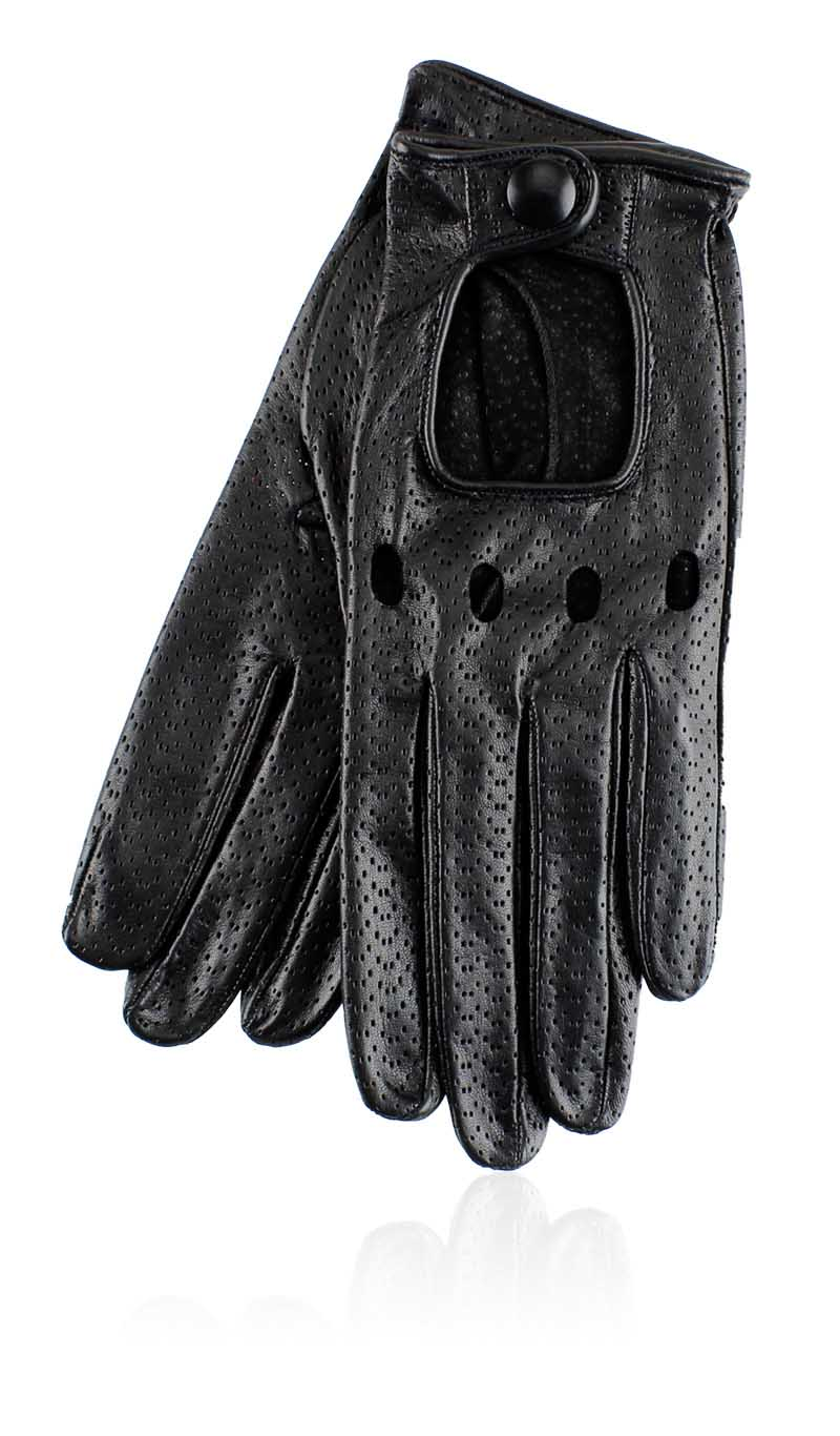 Women glove Grace Driving Lady Perforated Black