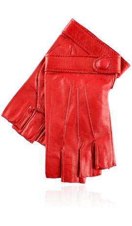 Rania 3C Fingerless Valentino Red