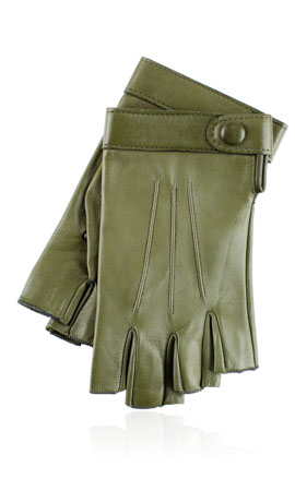 Rania 3C Fingerless Kaki Green