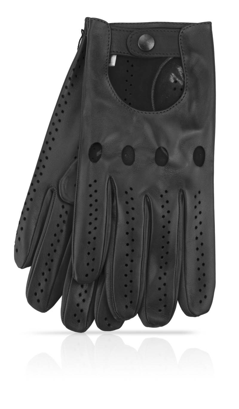 Men glove Man's Driving Gloves Black/Black
