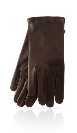 Man Classic Unlined Dark Brown
