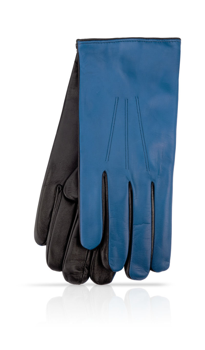 Men glove 3C Touch Fod. Cash. Royal Blue/Black