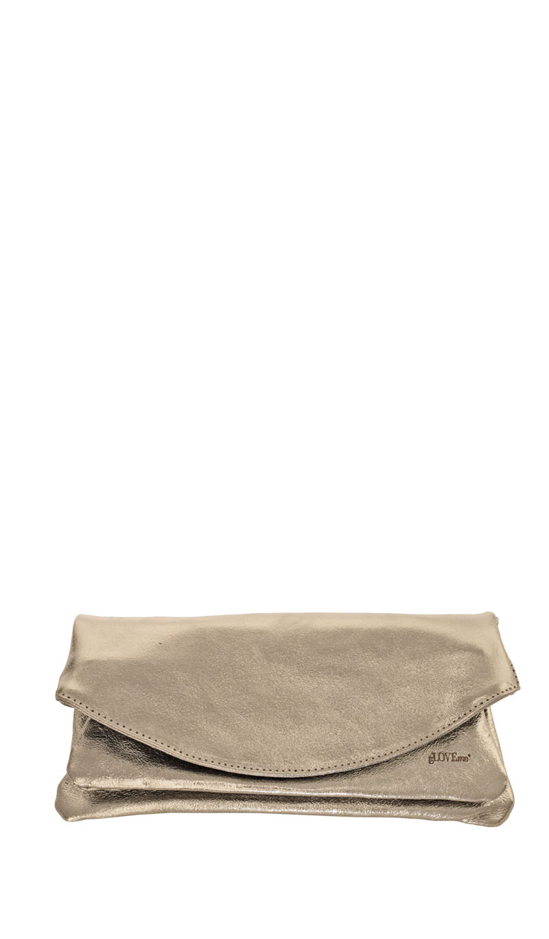 Bag PRISCA POCHETTE Bronze Metallic