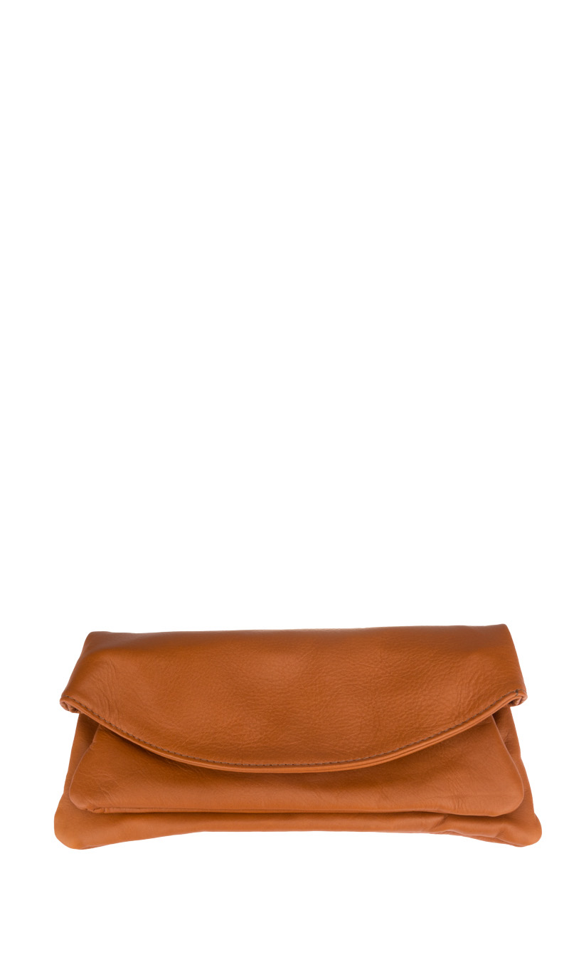 Bag PRISCA POCHETTE Tan