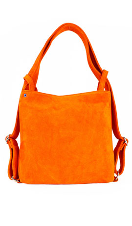 MINI CALIXTE' SUEDE Orange