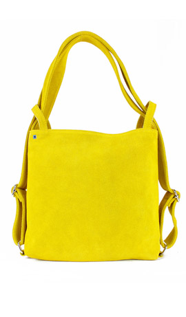 MINI CALIXTE' SUEDE Yellow