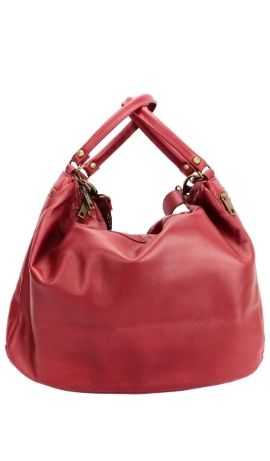 LACE BAG Rosso