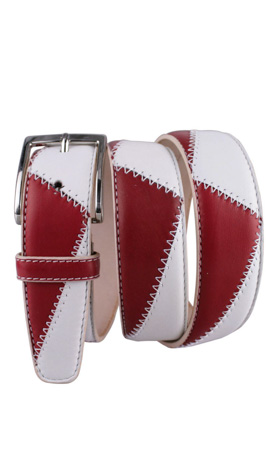 3,5 CM BICOLOR Gucci Red/White