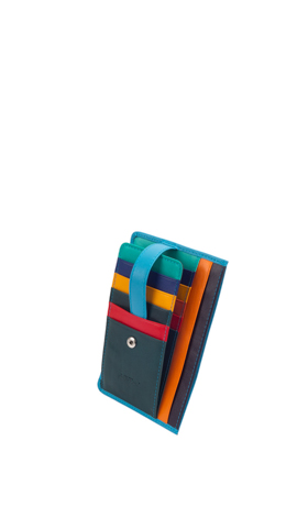 GARDENIA Credit Card Slots Hellblau/Multicolor