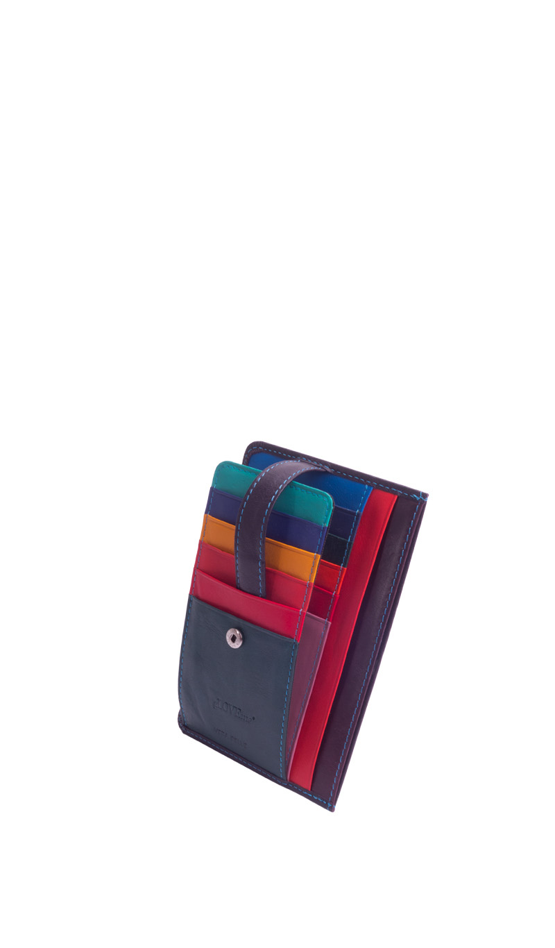 Wallet GARDENIA Credit Card Slots Eggplant Purple