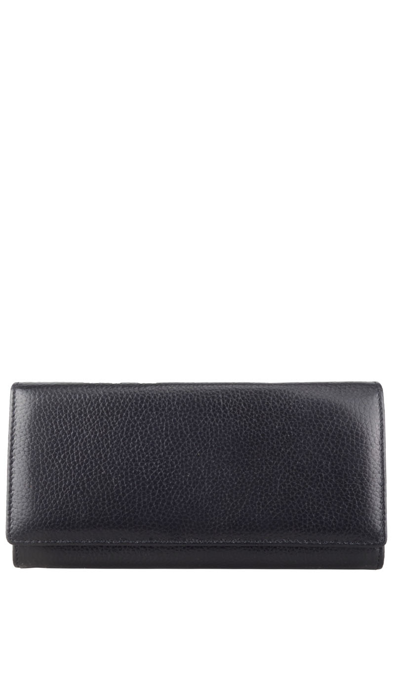 Wallet FIORDALISO Wallet Lady Big Black