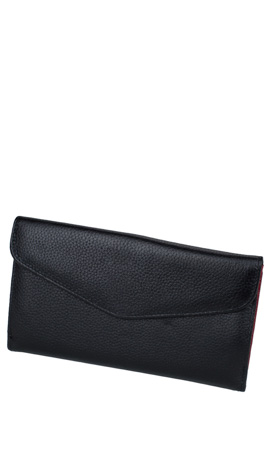 MAGNOLIA Wallet Lady Big Double Black
