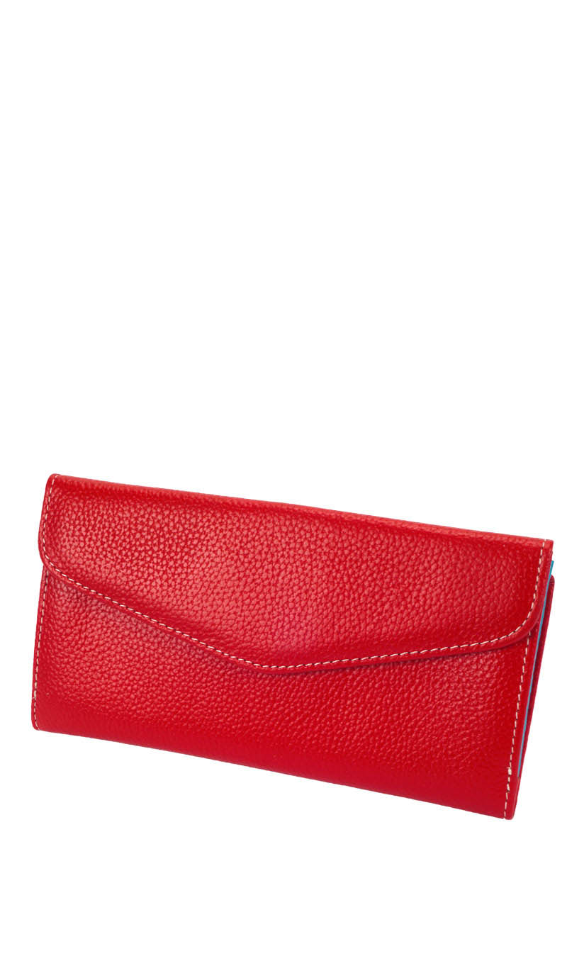 Wallet MAGNOLIA Wallet Lady Big Double Valentino Red