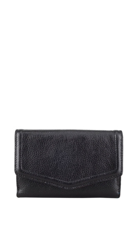 CALENDULA Wallet Lady Double Medium Schwarz
