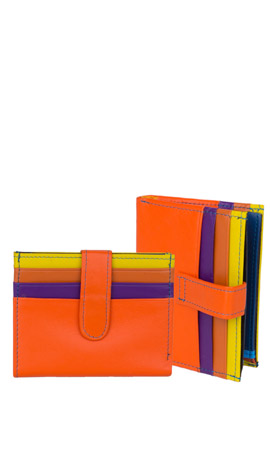 MUGHETTO Wallet Lady Mini Orange